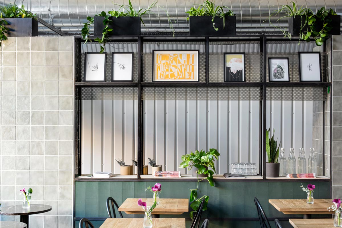 Coffee shop interiors by Hart Miller Design